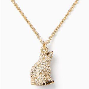 New Kate Spade ♠️ Polar Bear Necklace